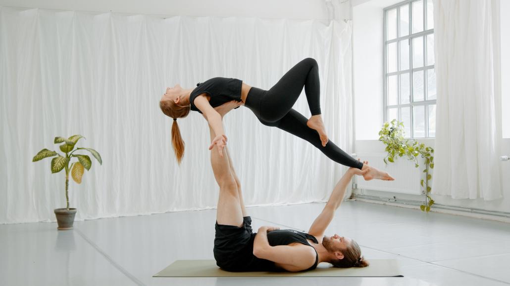 High Flying Whale Acro Yoga