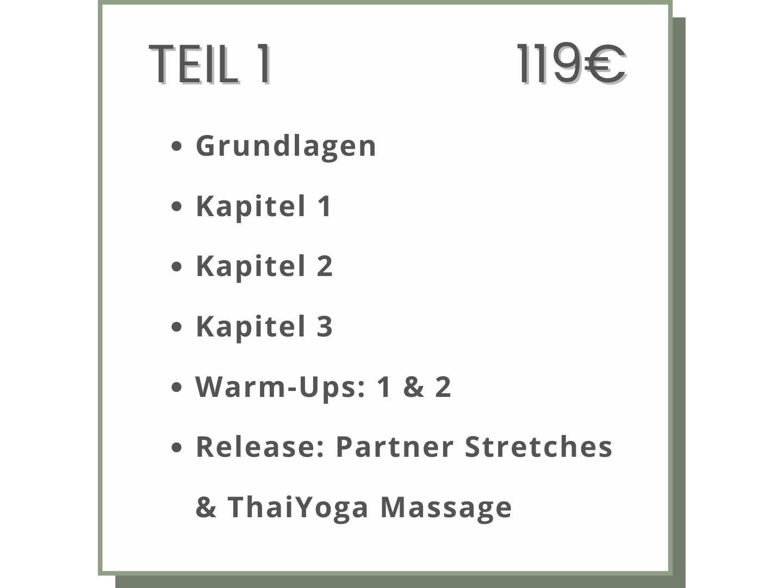Acro Yoga Kurs Grundlagen Basics