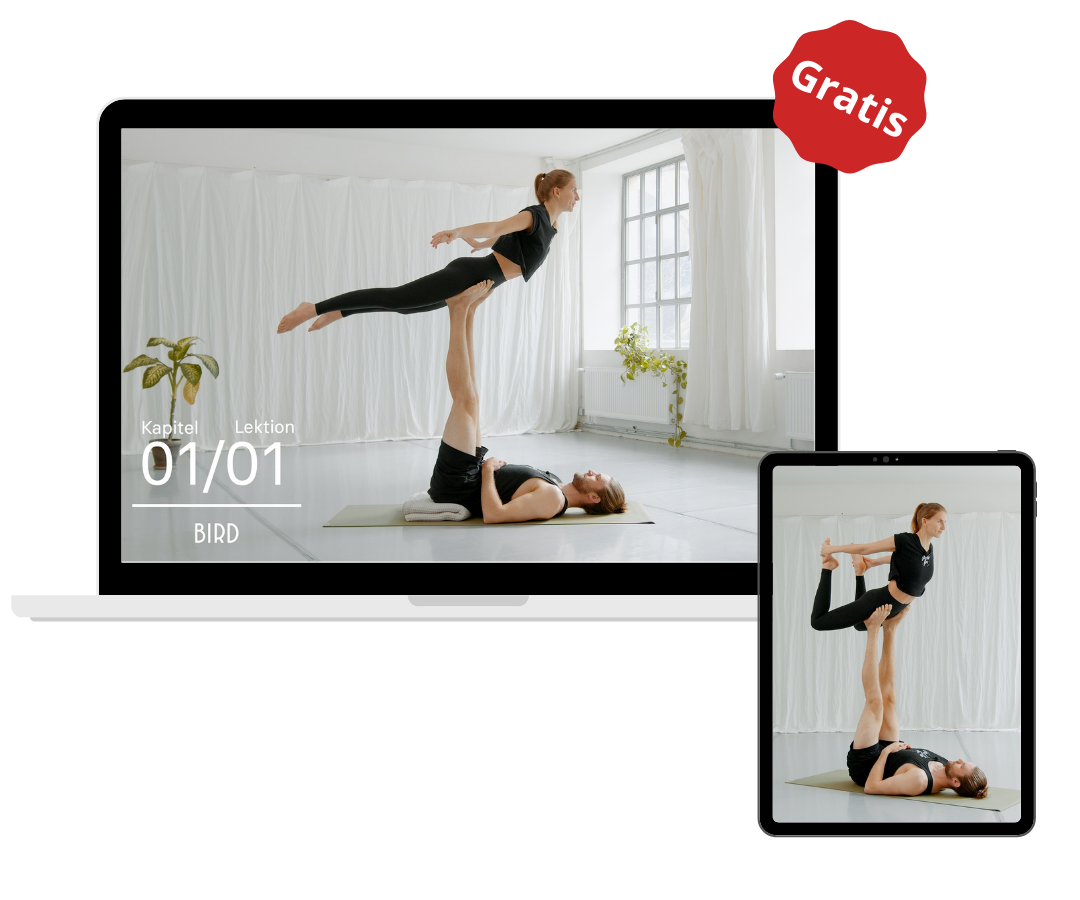 Freebie Online Kurs Acro Yoga